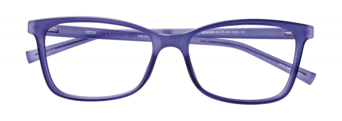 ECO Born Biobased - MEMURU in Matte Indigo - by MODO Eyewear