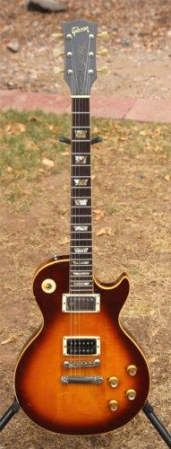 1973 Gibson Les Paul Standard Tobacco Sunburst, Excellent, Original Hard #vintageguitars