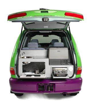 Jucy Crib Toyota Tarago 2 Berth Toyota Previa Toyota Car Camper