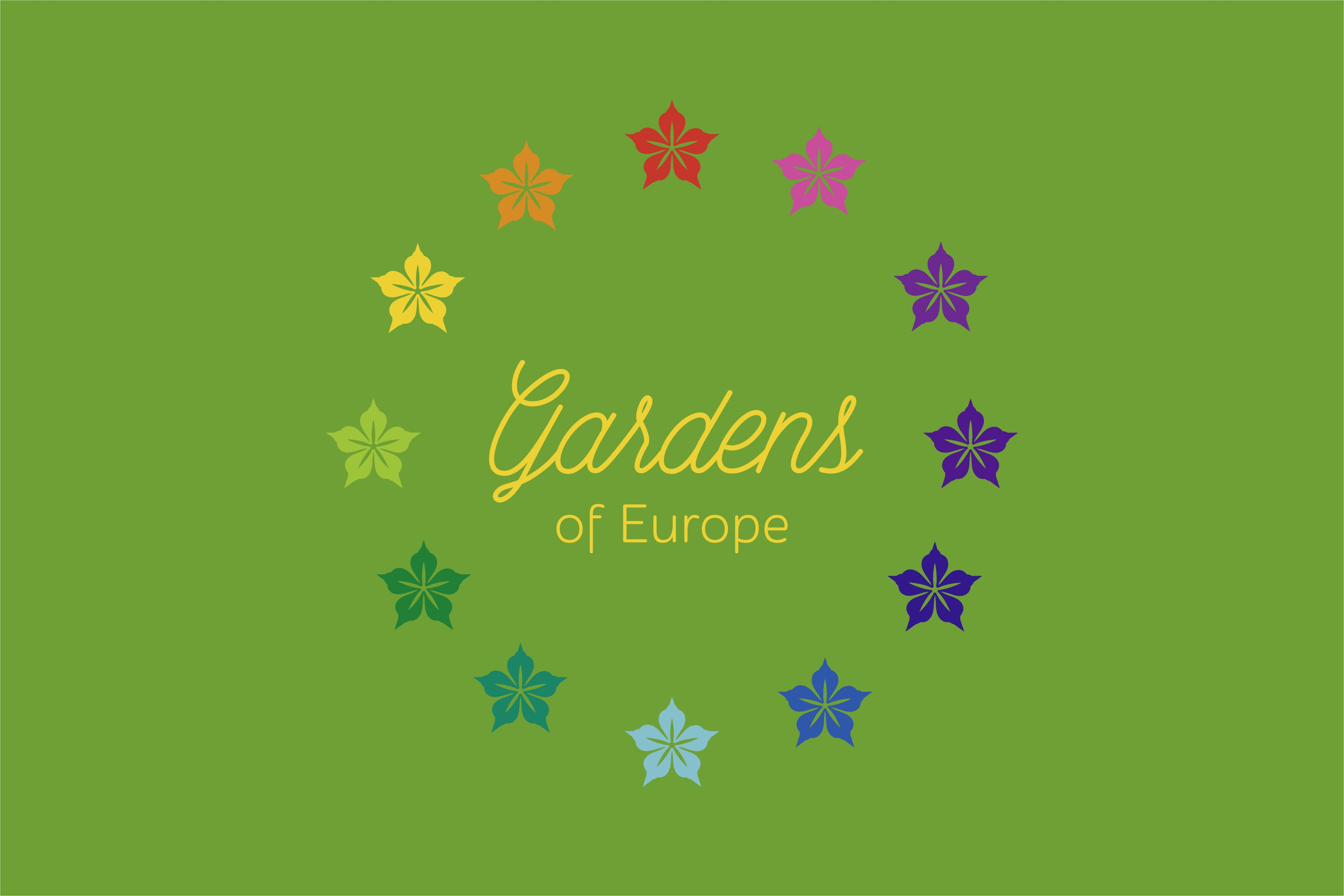 www.linedesign.be - Logo Gardens Of Europe