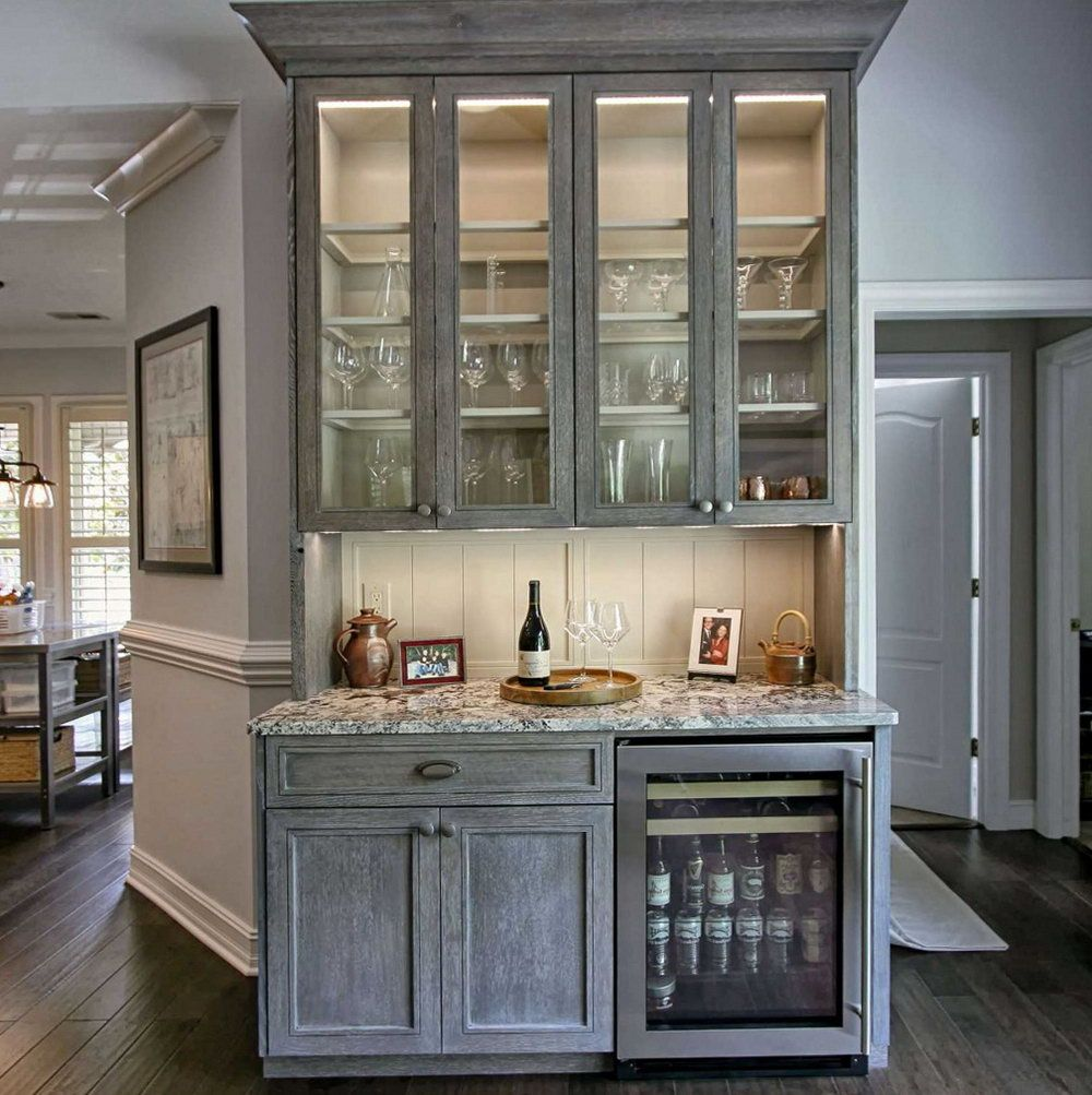 Stunning Kitchen Cabinets With Glass Doors On Top ...