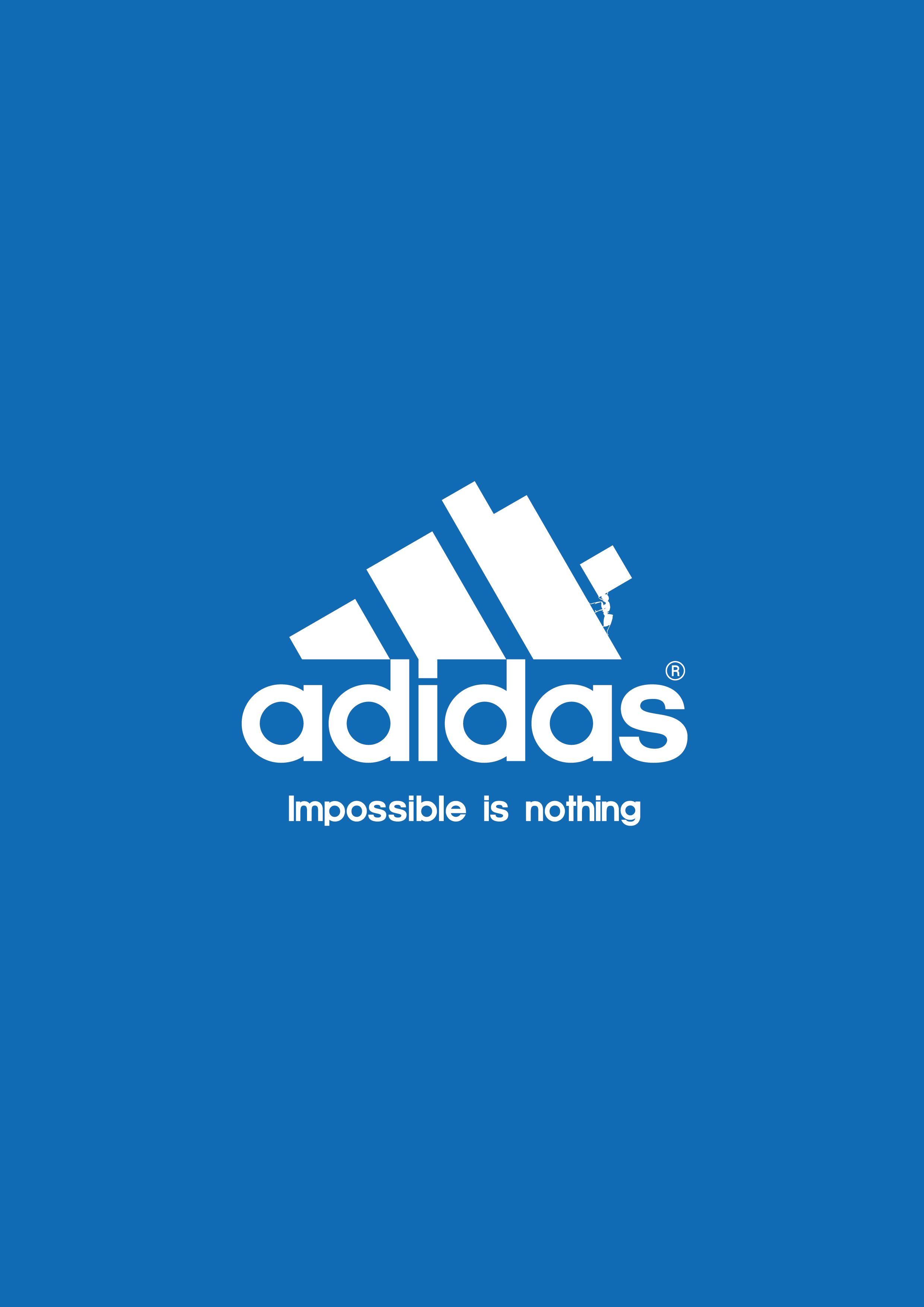 Impossible Is Nothing Adidas Ad Advertisement Print Design Poster Adidas Wallpapers Adidas Logo Wallpapers Adidas