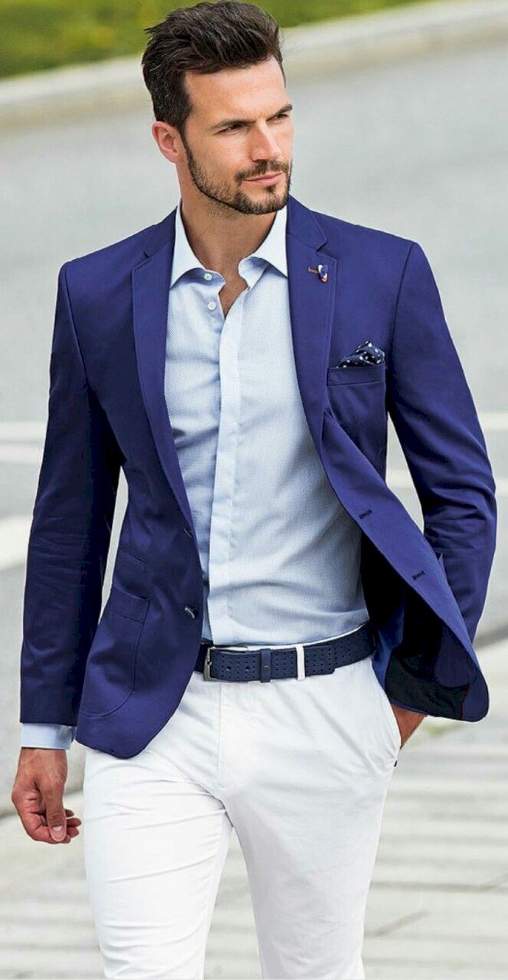 75 Best Men's Blue Blazer Outfit Lookbook Inspirations Spring and ...