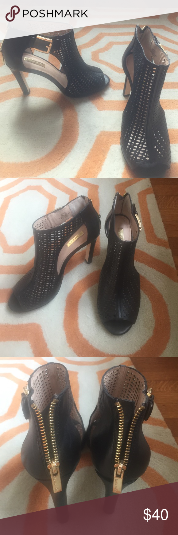 Louise et Cie shoes. Gorgeous Louise et Cie shoes. Black leather. Size 8/38. Worn once to a wedding. Bought at Nordstrom. louise e cie Shoes