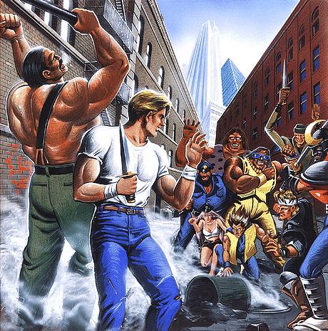 "theactioneer "" Final Fight Super box art"