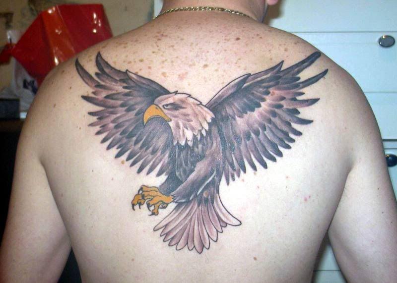 Mejores Tatuajes De Aguilas En El Espalda Disenos De Tatuajes