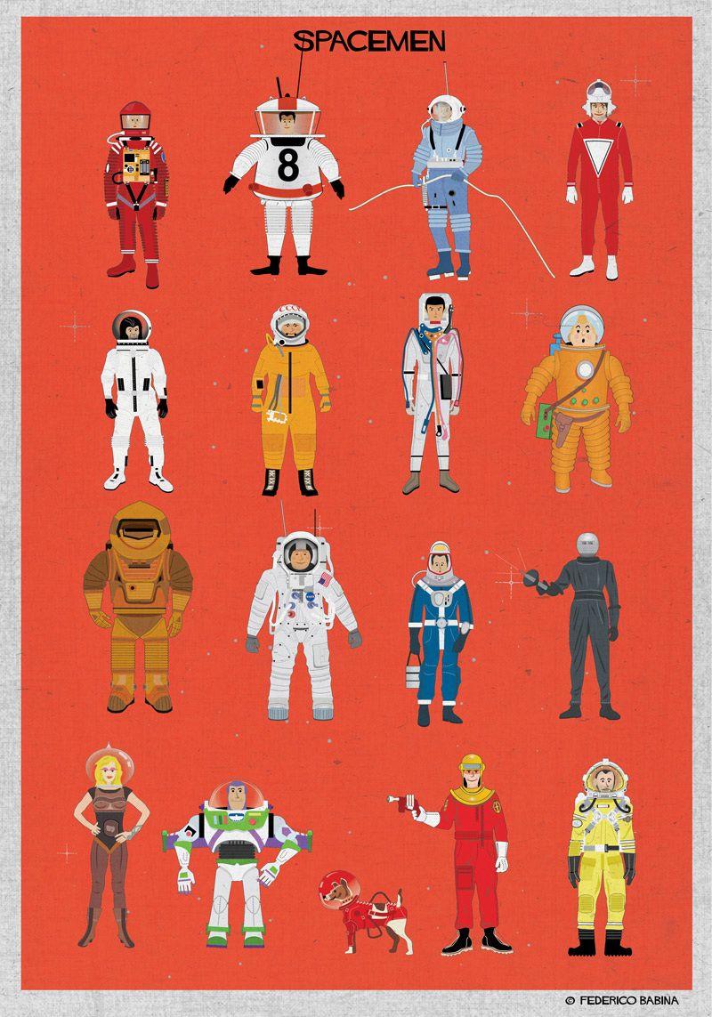 MAGMA (for) space series - federico babina - Spacemen