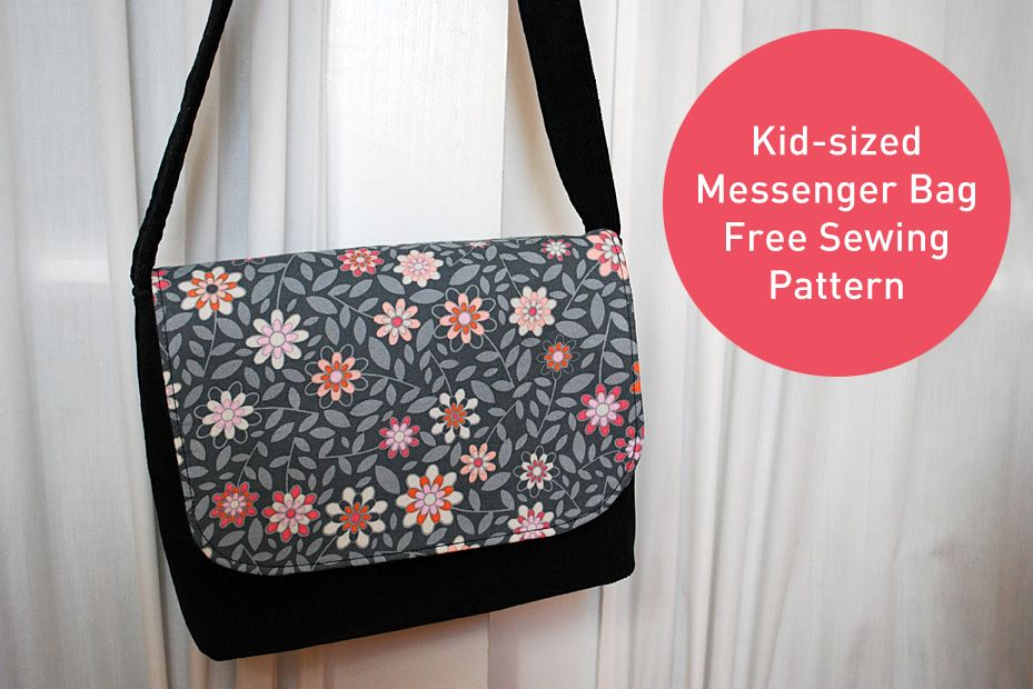 Kid Sized Messenger Bag Free Pattern And Sewing Tutorial Clever Craft Ideas Patterns Templates Printables Merriment Design