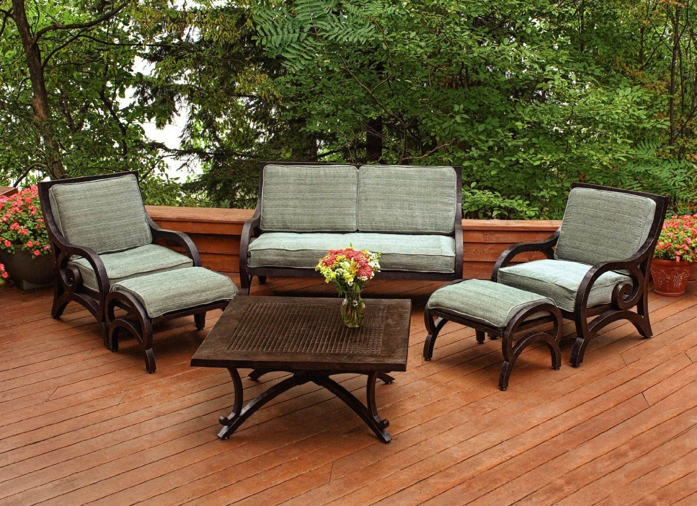 Woodard Furniture Aluminum with Cushions