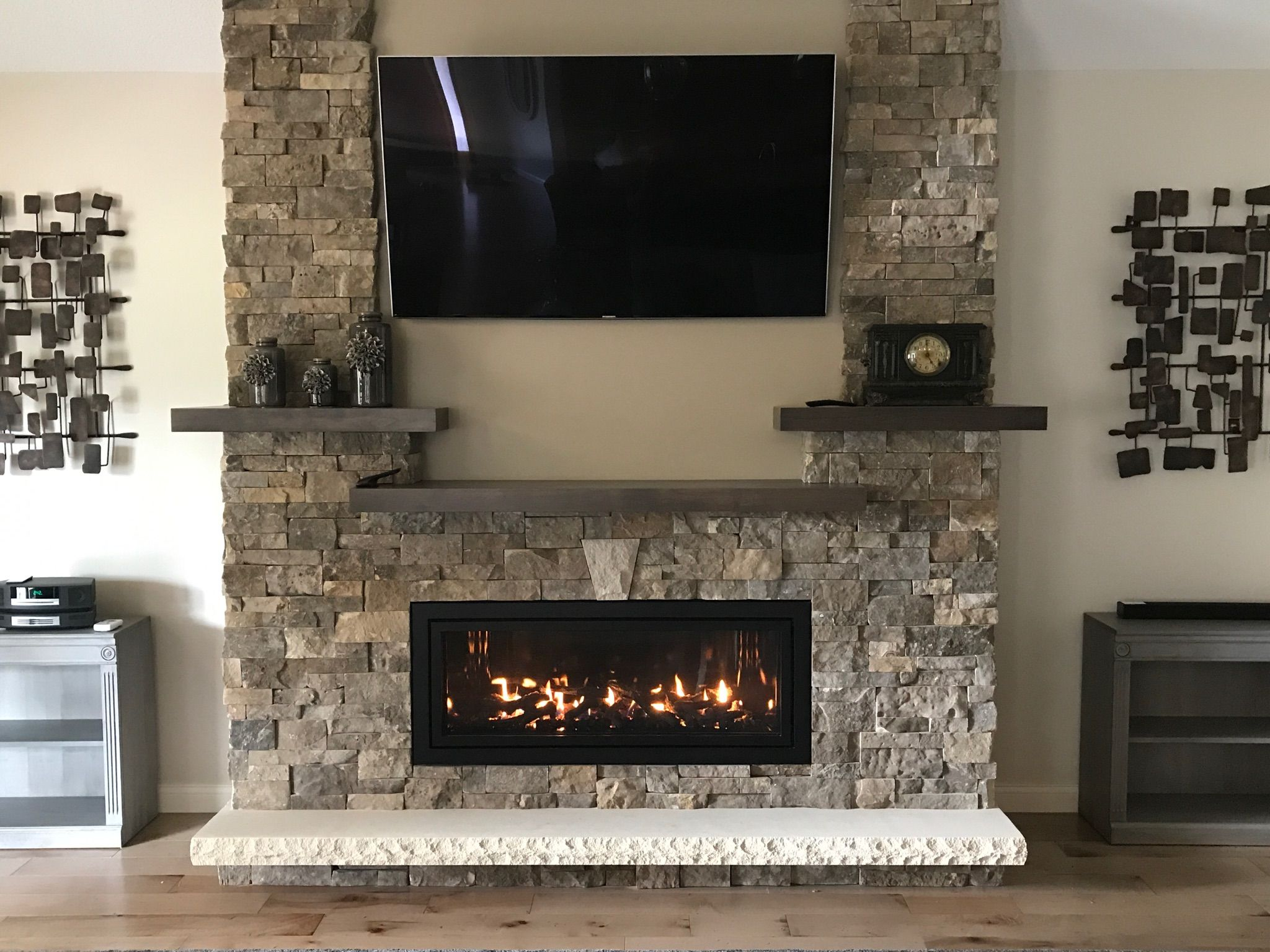 Fireplace Plus Ml47 Beautiful Install Of A Mendota Ml47 From