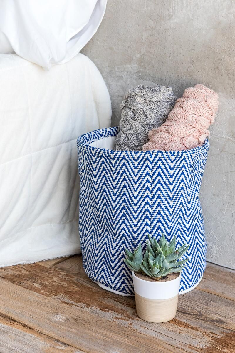 Kick off Spring with a cute basket to help organize your space. http://www.tangerlife.com/2018/01/09/tips-to-kick-off-spring-semester