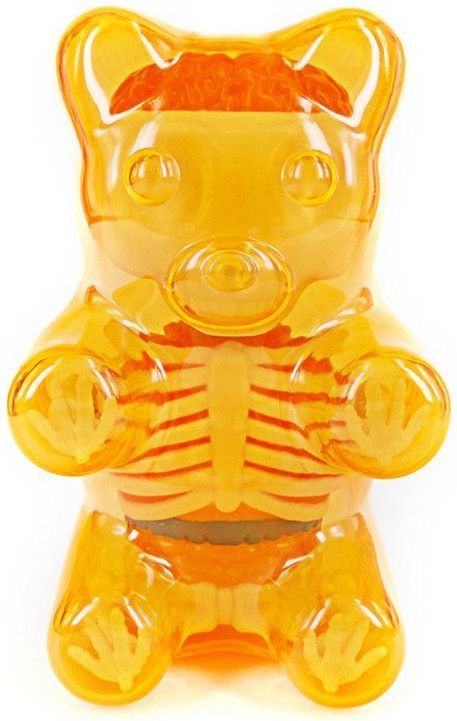 Jason Freeny Baby Clear Gummy Bear Anatomy 4 Inch Figure Hannah