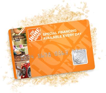 Homedepot CC Home depot, Credit card