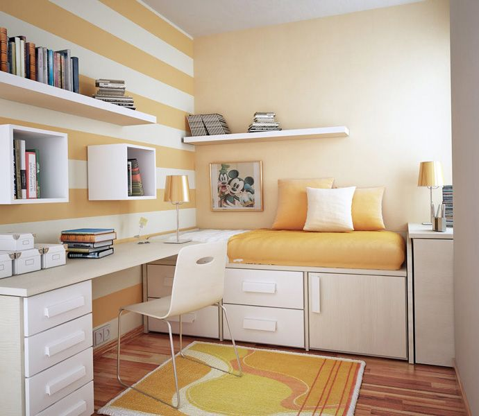 1000 images about Small Room on Pinterest. Modern Single Bedroom Designs
