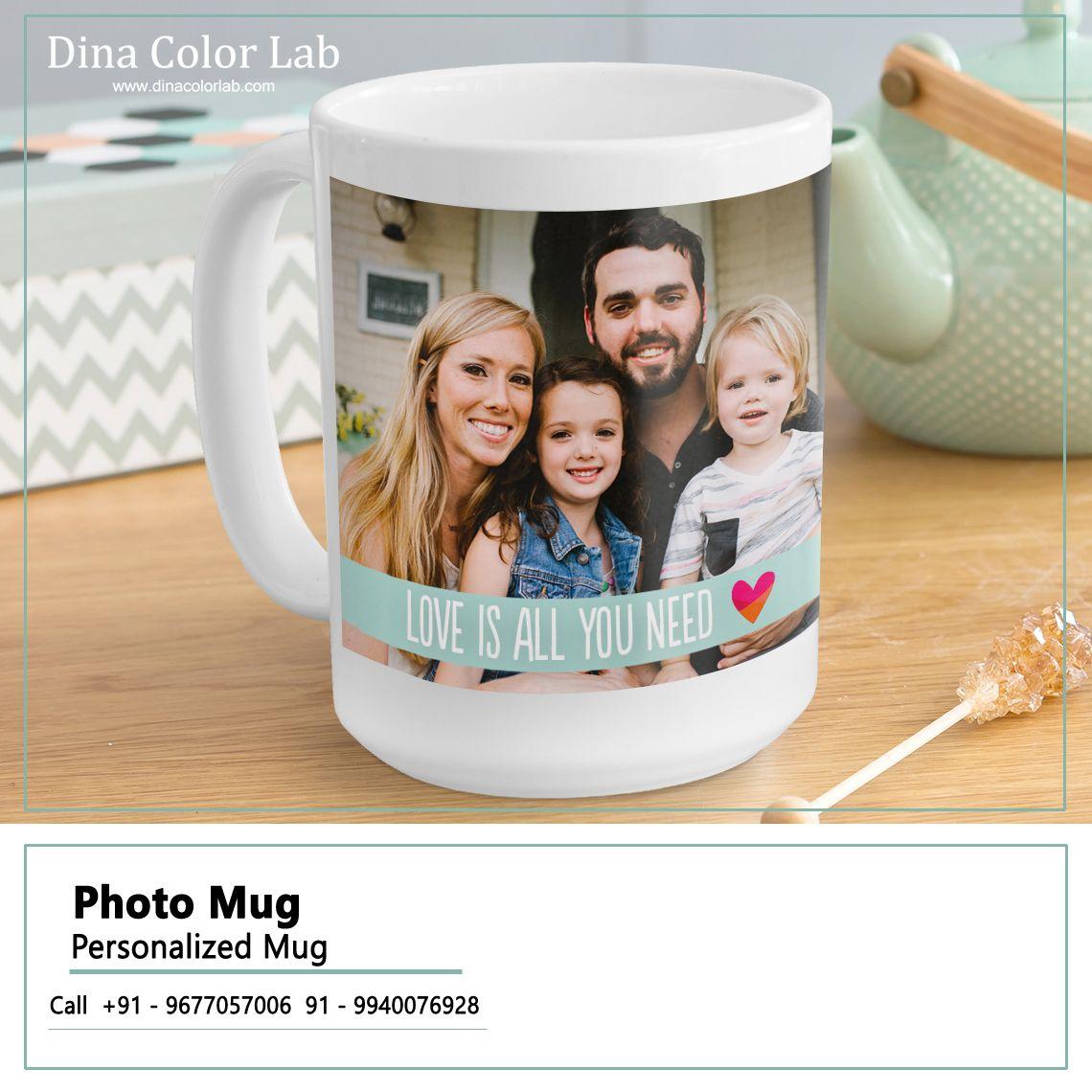 Photo Mugs Personalized