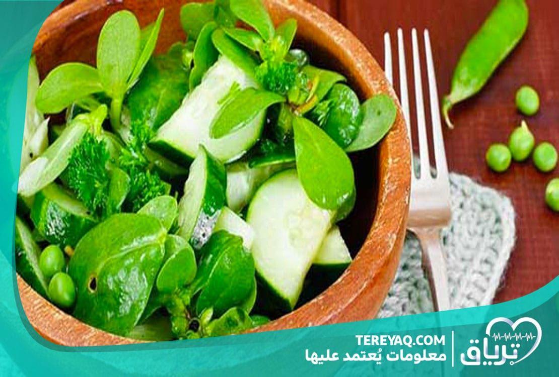 فوائد البقلة للحامل وقيمتها الغذائية خلال فترة الحمل Food Turkish Salad Vegetables