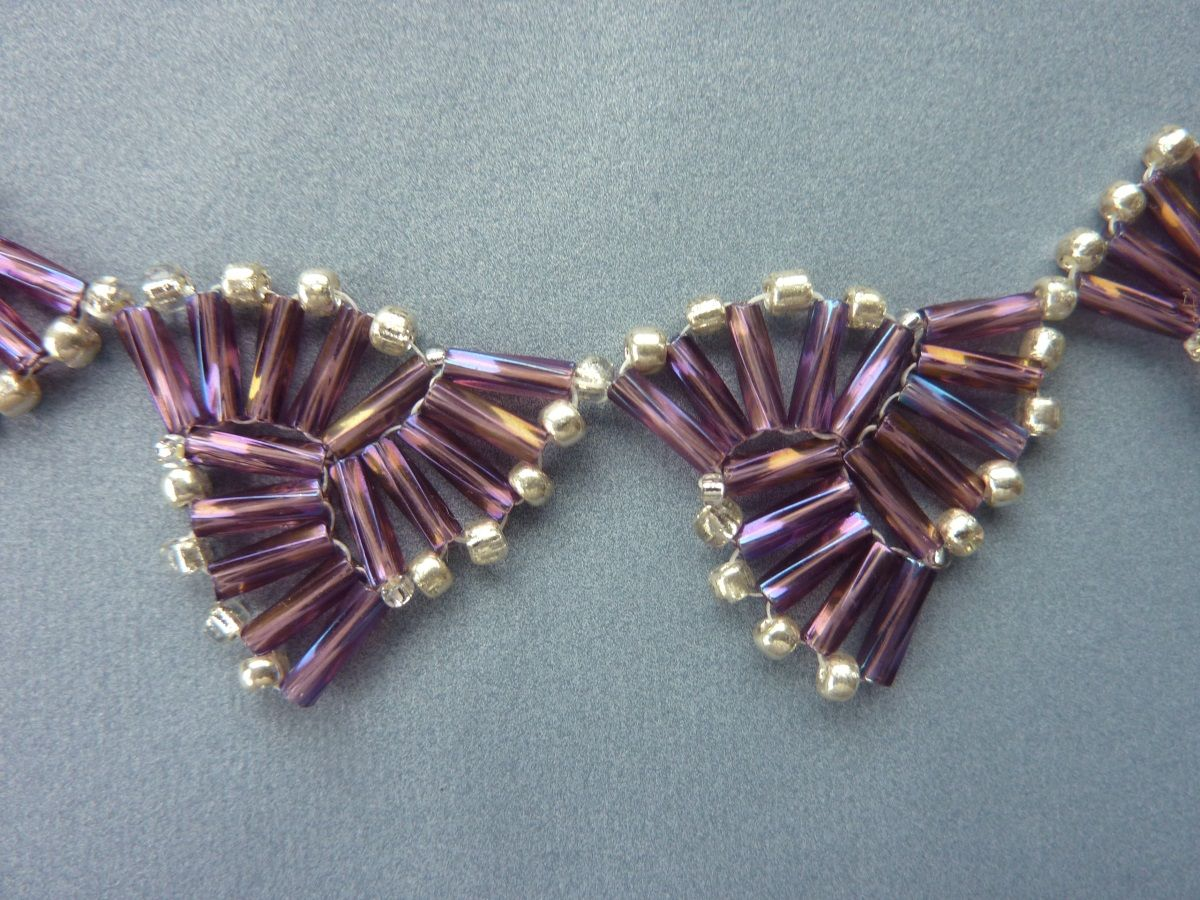mw xl fuchsia beads gold bugle p thumbnail image glass l cut