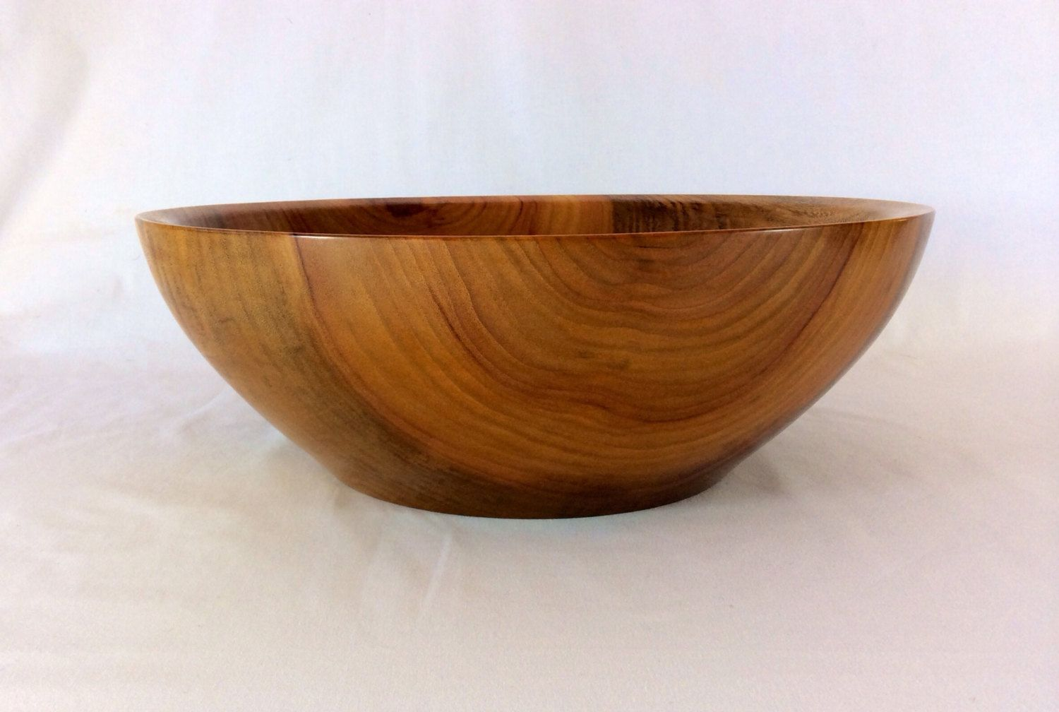 Extra Large Wooden Bowl Stunning Salad Or Fruit Food Safe Wood Perfect Gift Unusual Present In Any Decor By Broluk On Etsy