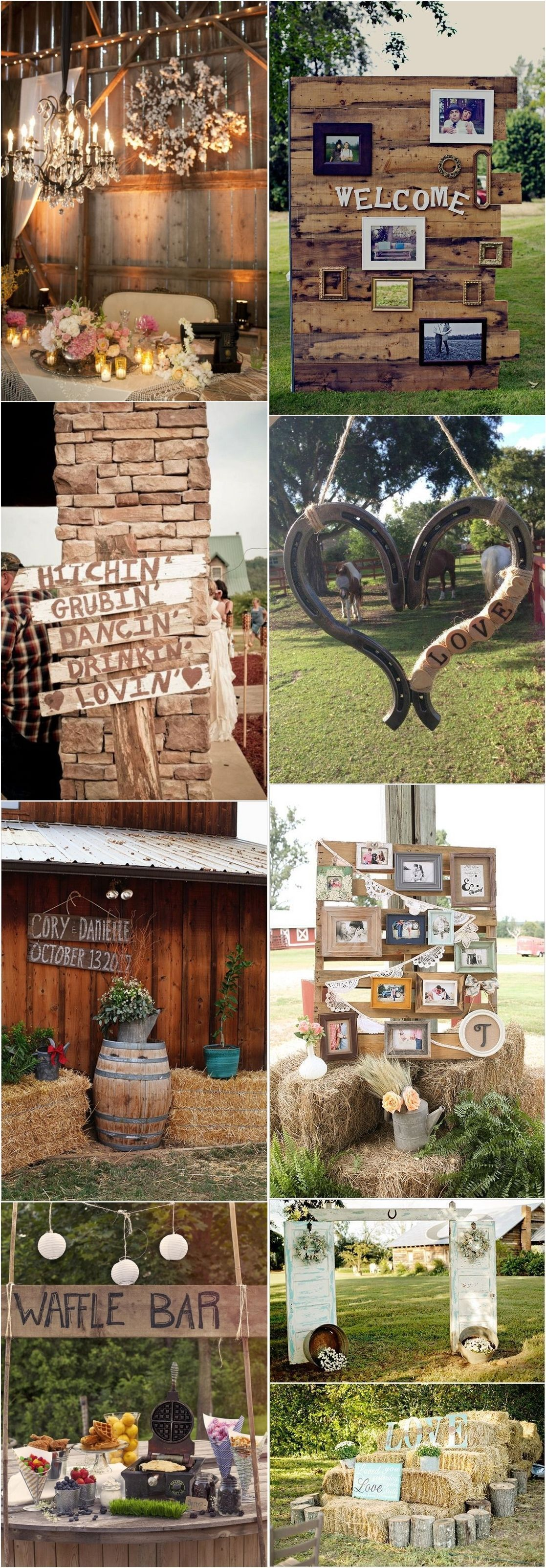 Wedding decorations venue october 2018  Gorgeous Country Rustic Wedding Ideas for your Big Day in