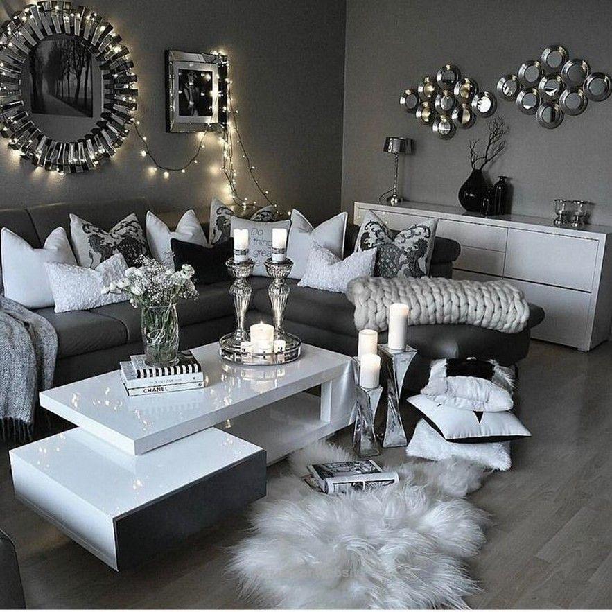 Home Designs Living Room Decor Gray White Living Room Decor Silver Living Room
