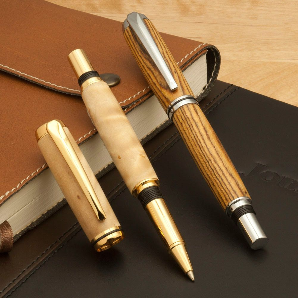 Craft pens to write on wood - Shopping For Rollerball Pen Kits Like Apprentice Jr Gentlemen S Pen Kit Is Easy At Craft Supplies Usa Not Only Do We Offer Rollerball Pen Kits