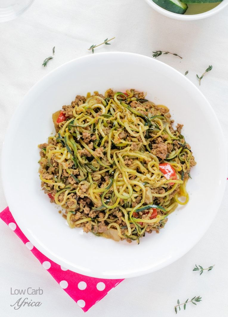 Ground Beef Zucchini Noodles Is A Great Summer Delicacy And Truly Delicious At Only 4g Net Carbs It Fits In Perfectly Best Dinner Recipes Ground Beef Recipes