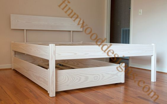 Simplicity Trundle Bed Queen Trundle Bed Trundle Bed Frame Diy