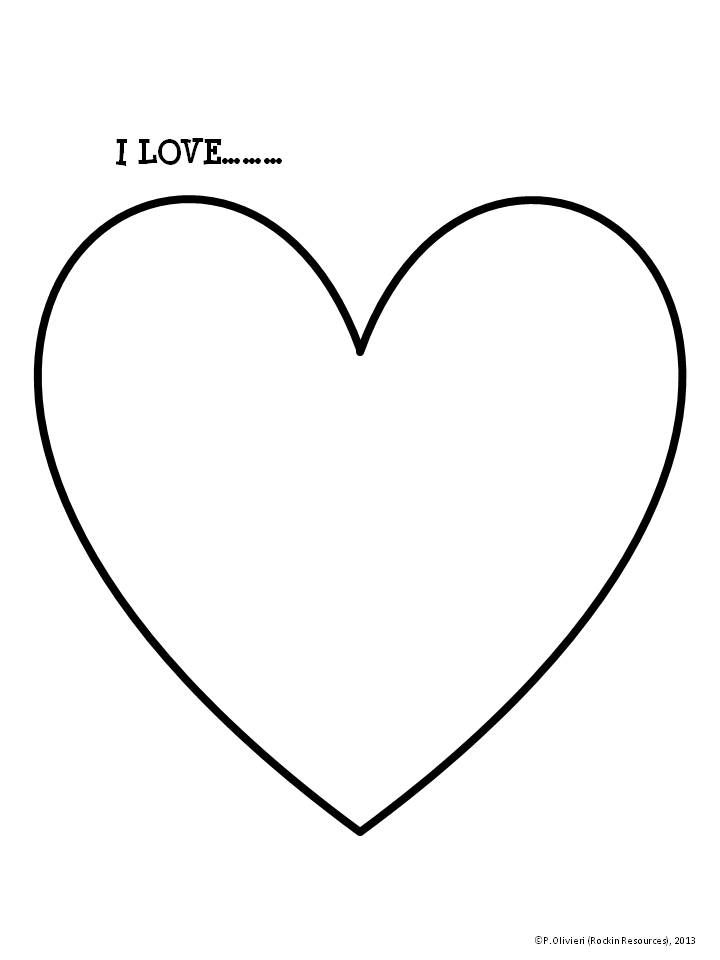 Line Art Heart Outline : Free template heart pattern srdce pinterest