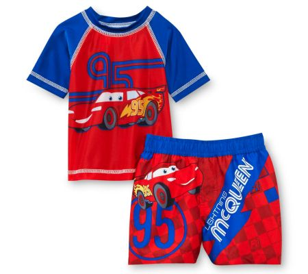 18 Disney Swimwear Pieces - Disney Cars