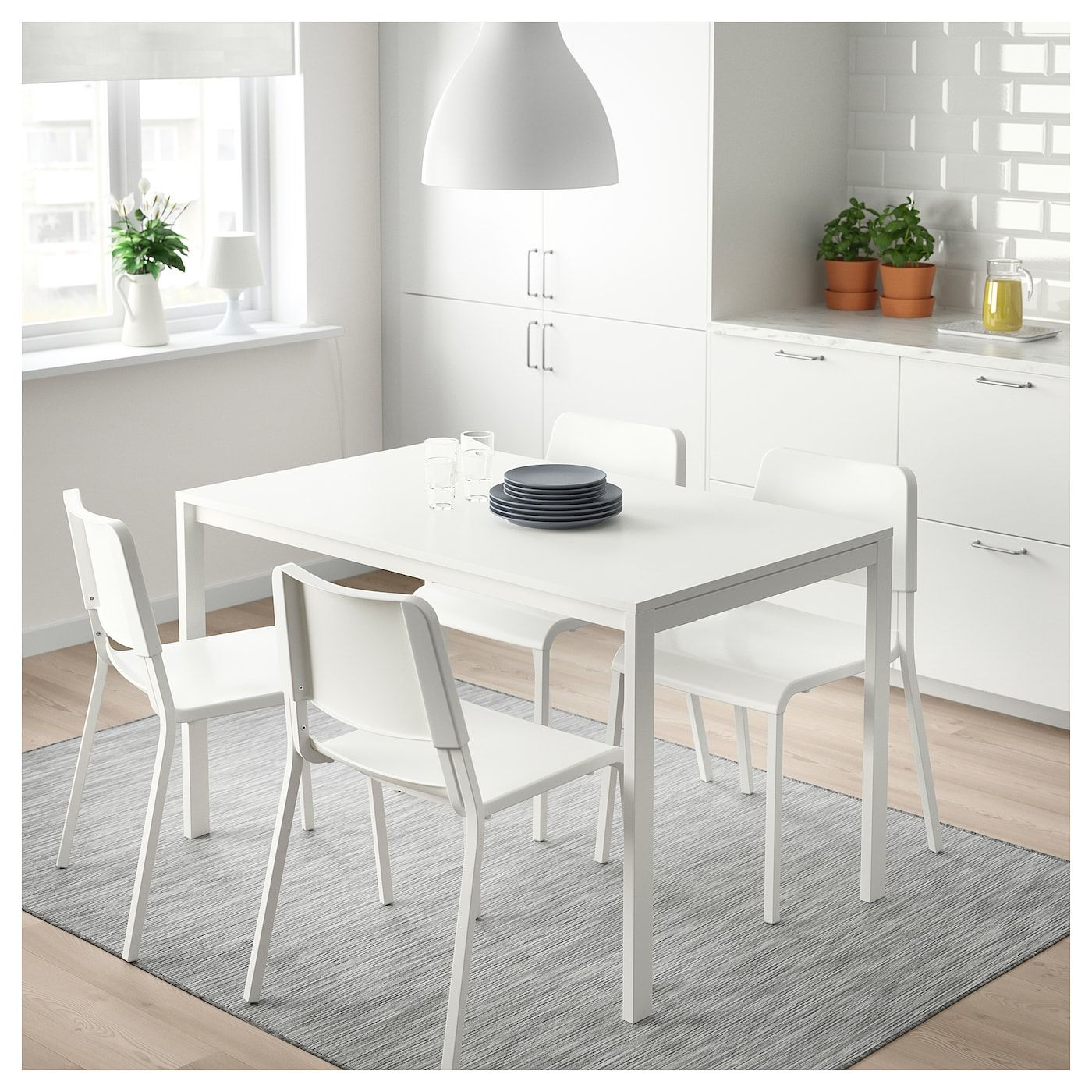 Melltorp Blanc 2019Bureau TableChaises Boulot In Table gv7fyYb6