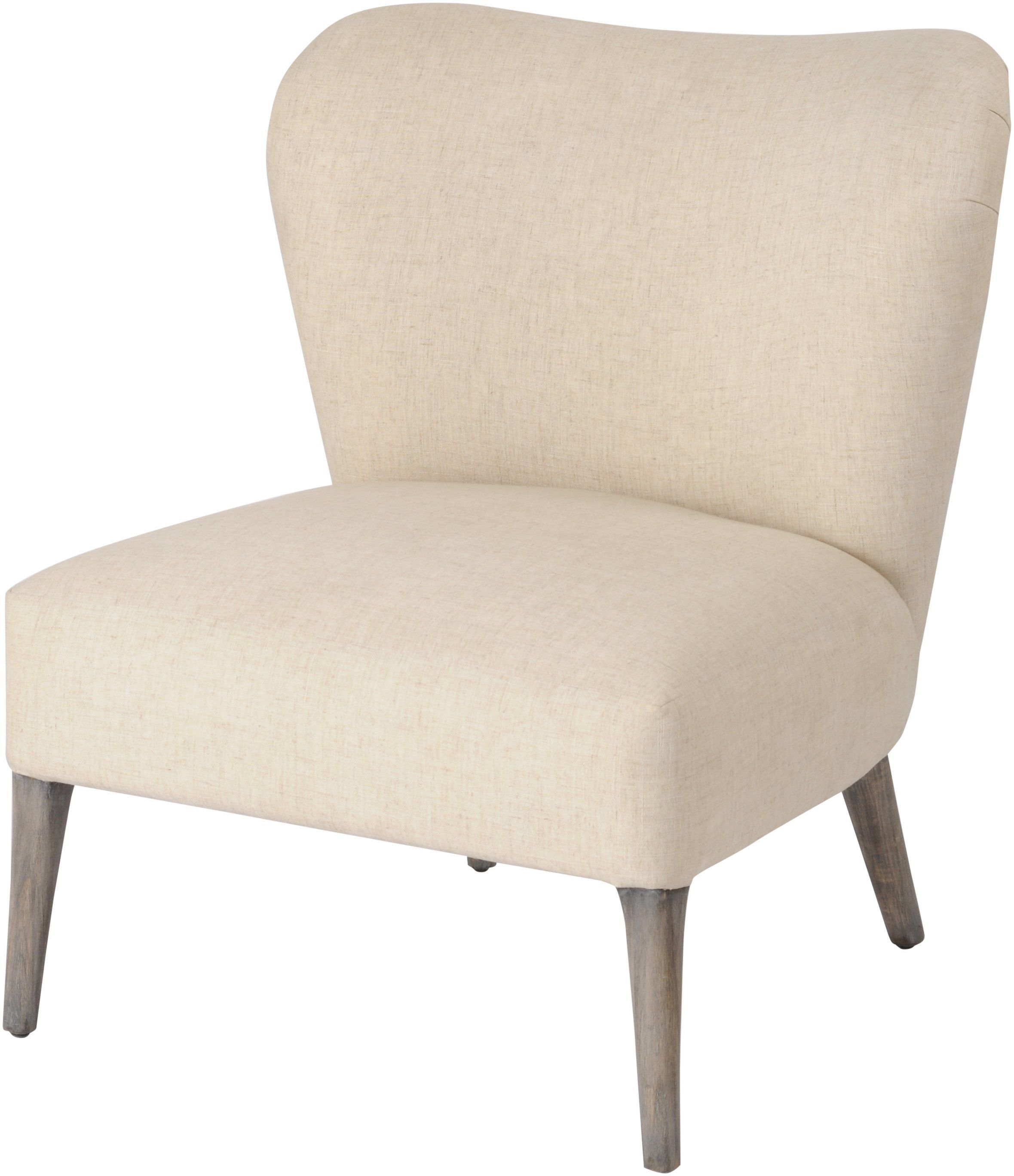 Homestead Cream Linen Mindi Occasional Chair Allissias Attic