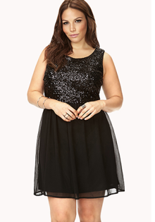 683f01715e3 Plus size Christmas party dress