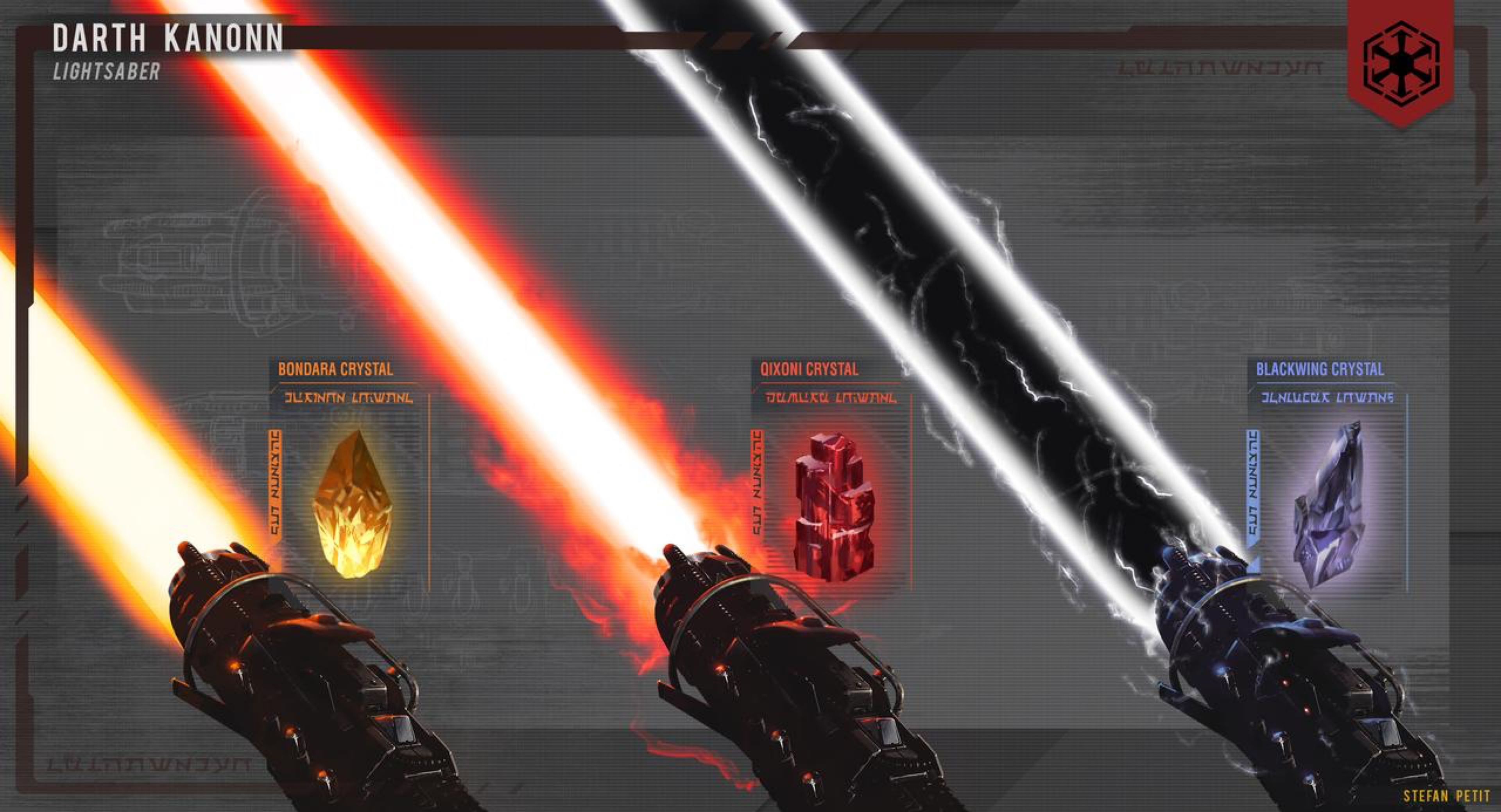 Sith Lightsaber Blade Variety By Spetit05 On Deviantart With