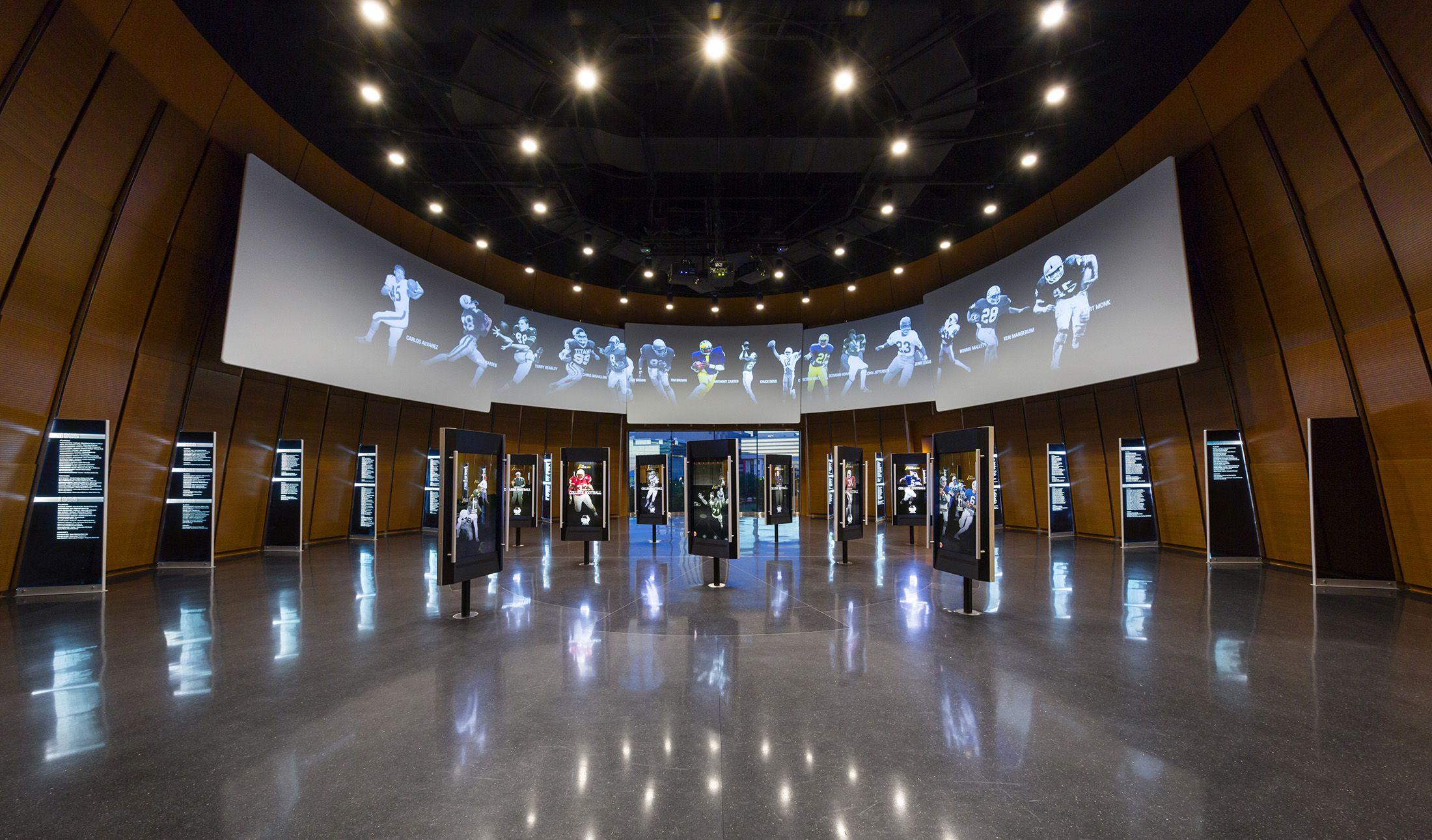 College Football Hall Of Fame In Atlanta Ga Designed By