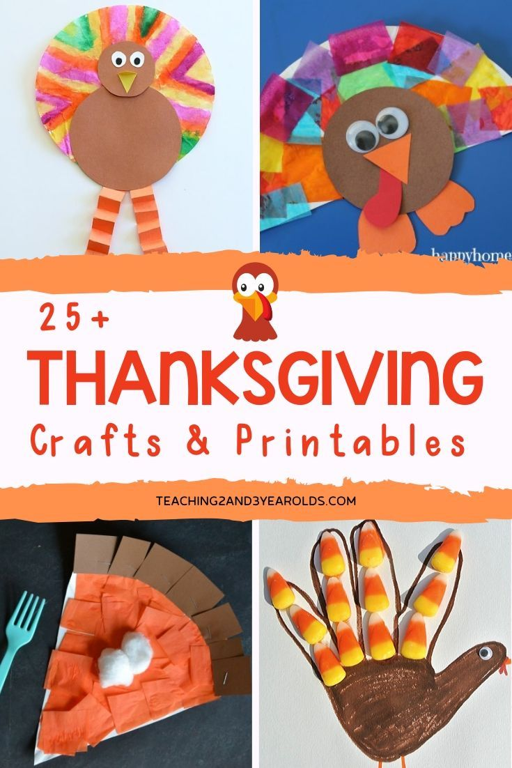 18 thanksgiving crafts for kids toddlers ideas