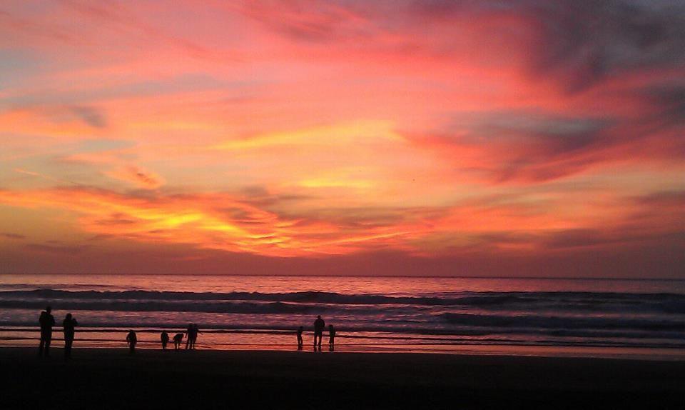 Beach Night With Friends Ocean San Francisco