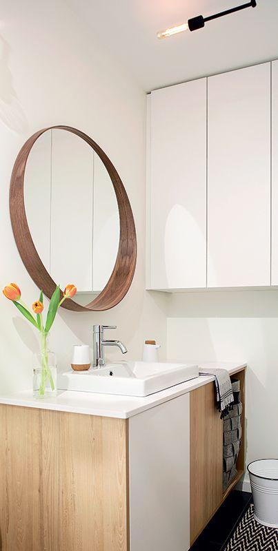 Une maison au style scandinave salles de bains bathroom furniture home - Maison style scandinave ...