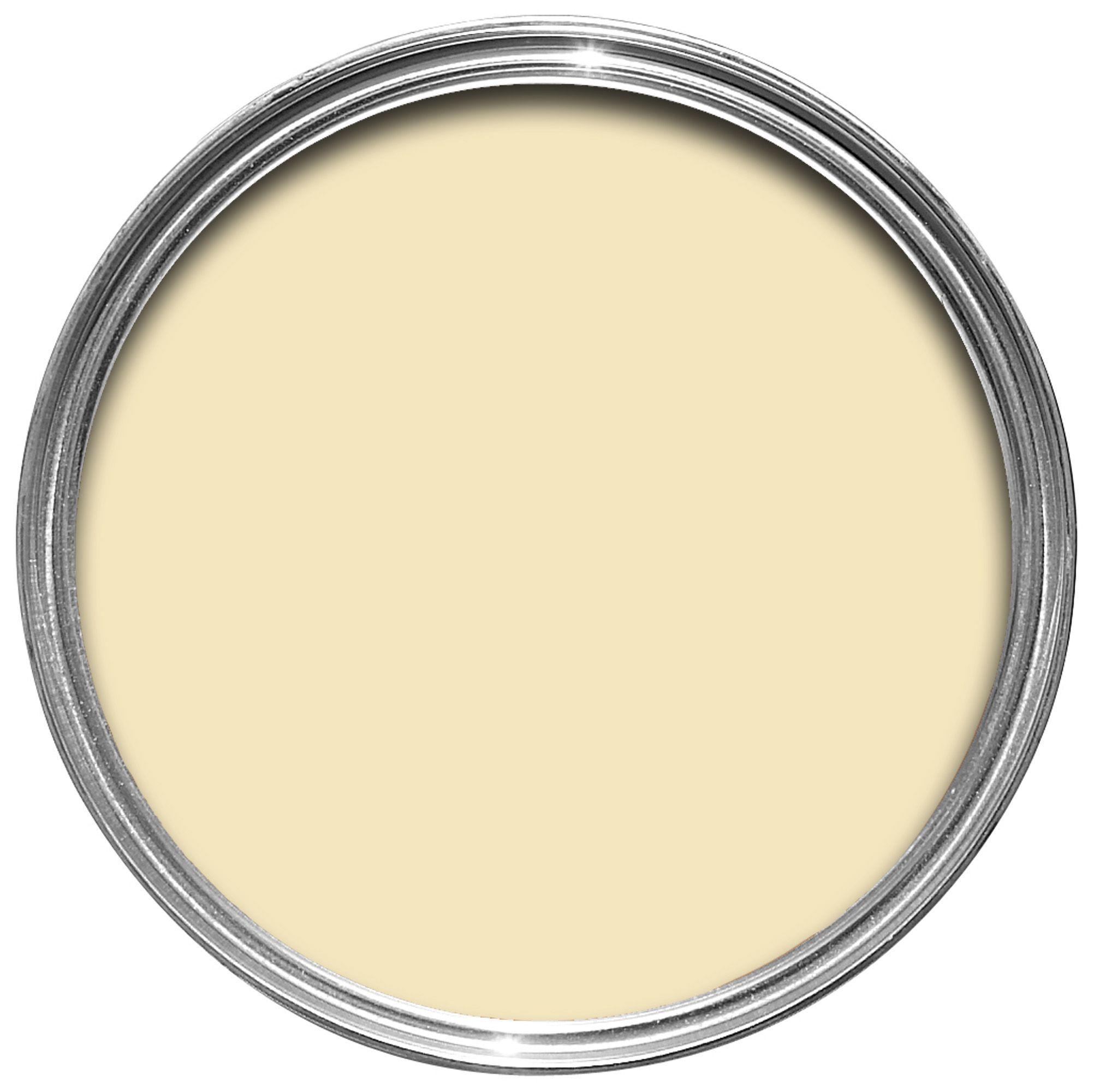 Rust Oleum Clotted Cream Chalky Effect Matt Furniture Paint 125ml Departments Diy At B Q Rustoleum Yellow Furniture Painted Furniture