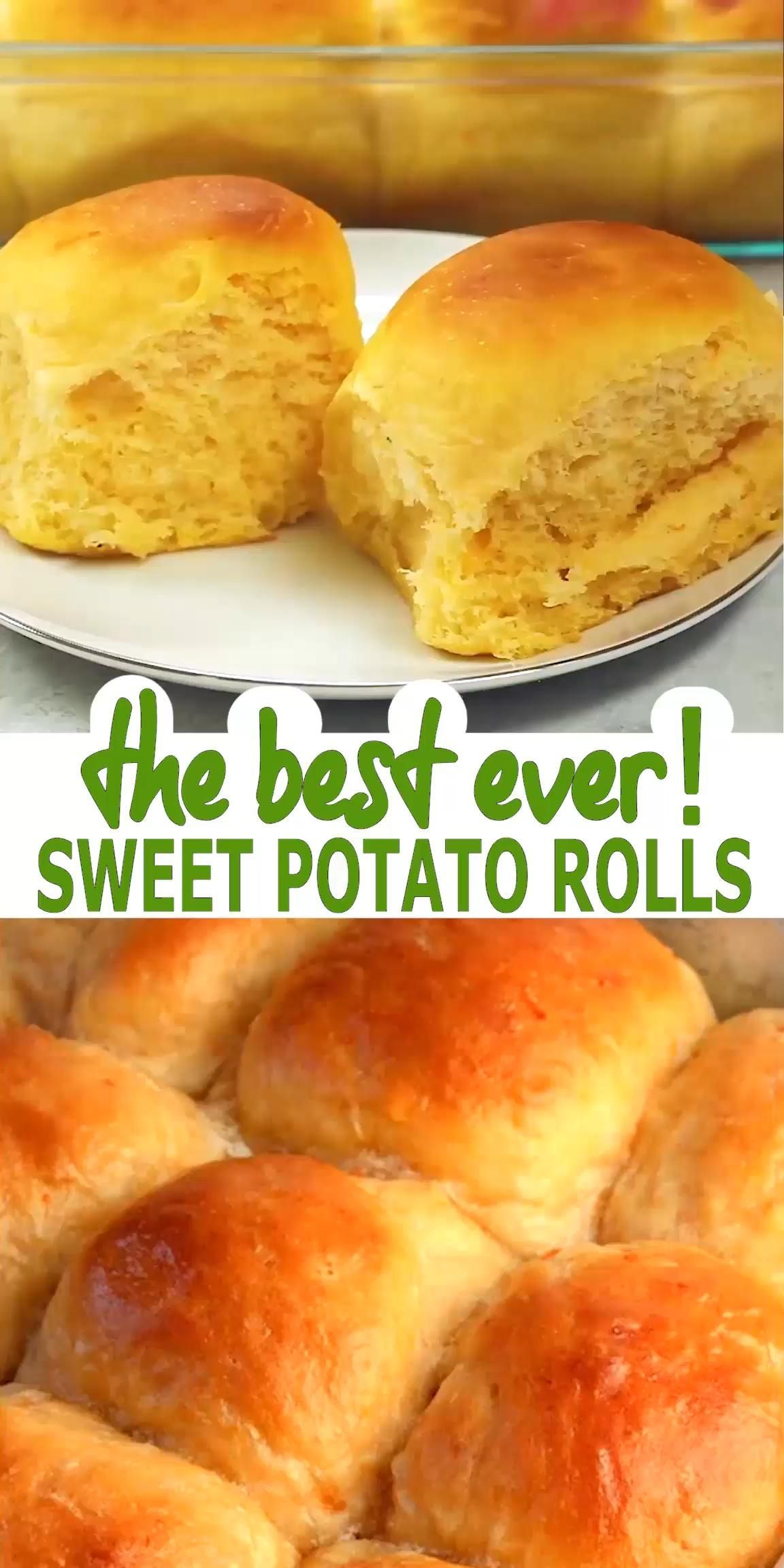 Sweet Potato Dinner Rolls In 2020 Sweet Potato Dinner Sweet Potato Rolls Dinner Rolls