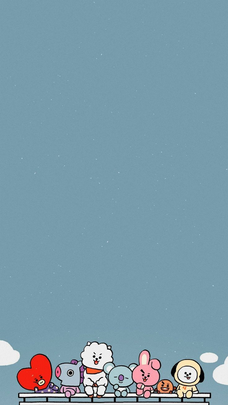 BT21 Wallpaper / Credits to Twitter/lockszscreenbts © #BT21 | Cute wallpapers, Iphone wallpaper, Bts wallpaper