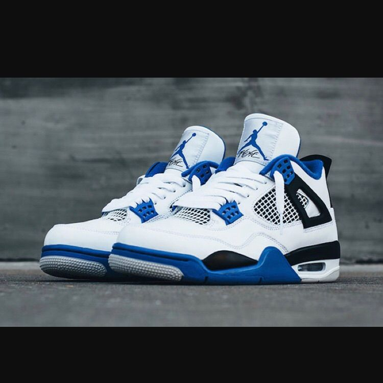 90c2cbe1742 Air Jordan Shoes | Jordon Motorsport 4s Size 6 | Color: Blue/White | Size: 6