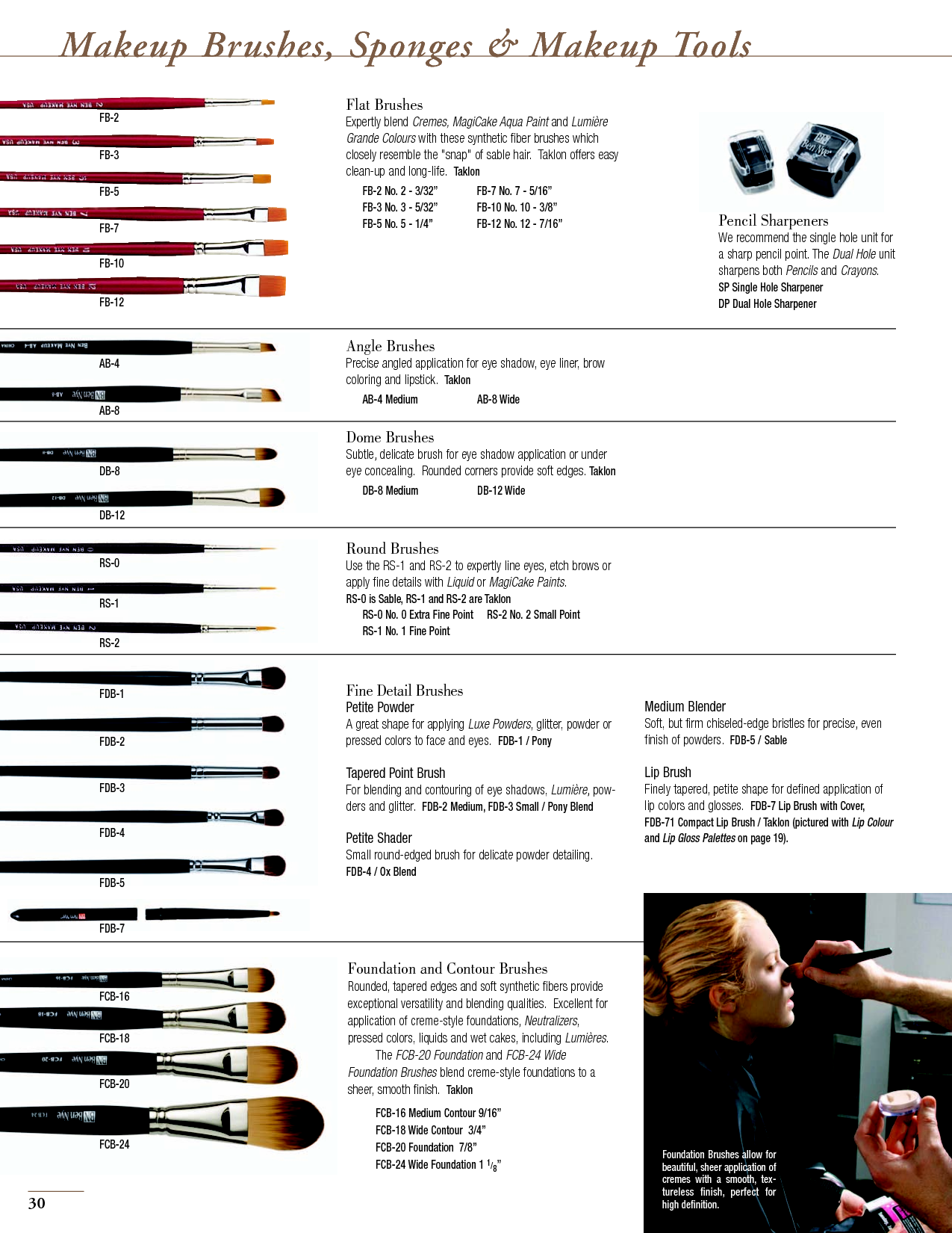 Makeup brushes and their uses Beautifully made! Pinterest