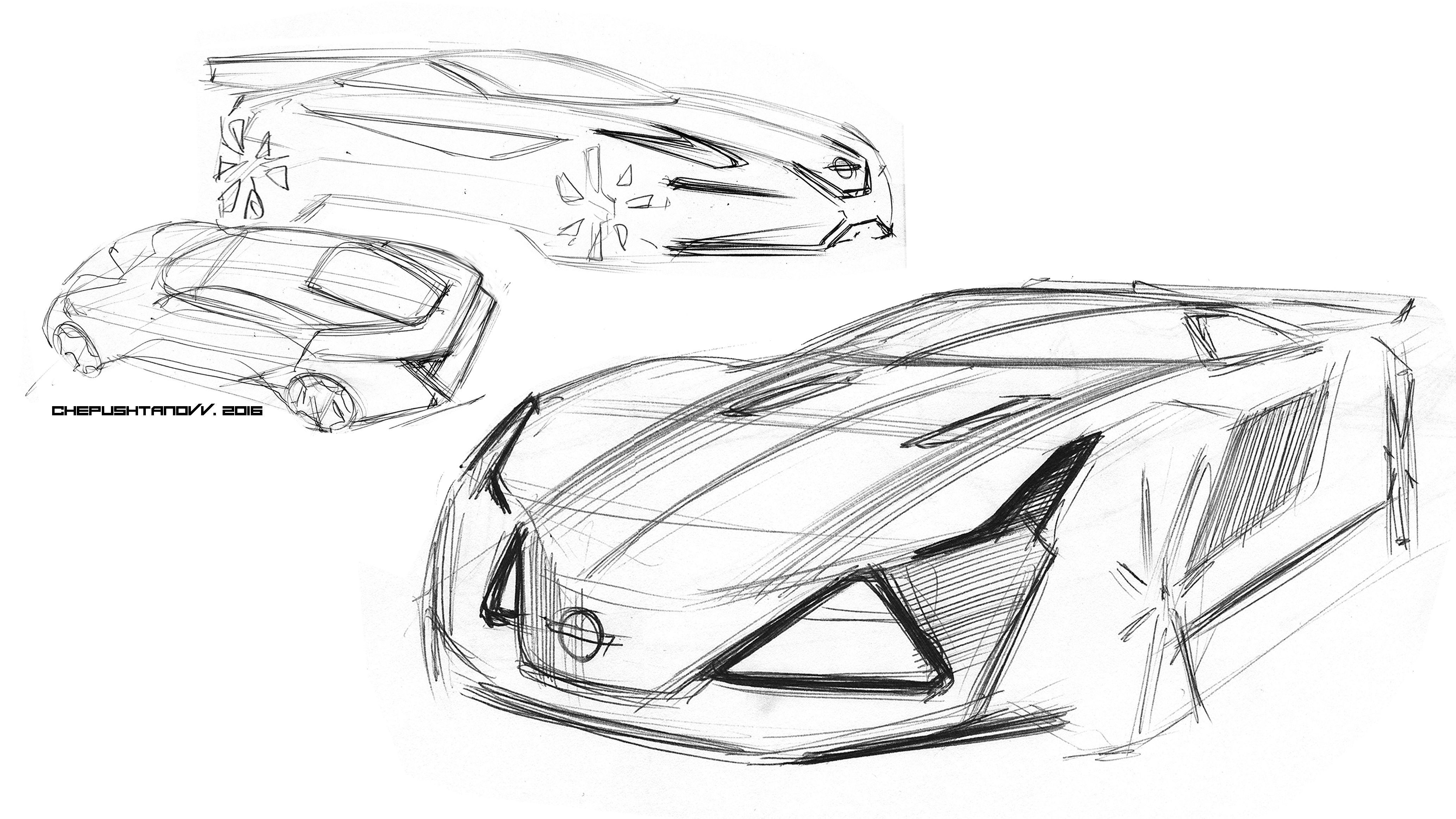 Pin By Heon Yeong Bok On Car Sketch