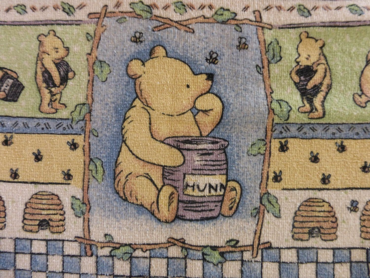 Winnie The Pooh Kitchen Towel Classic Terry Cloth Dishcloth