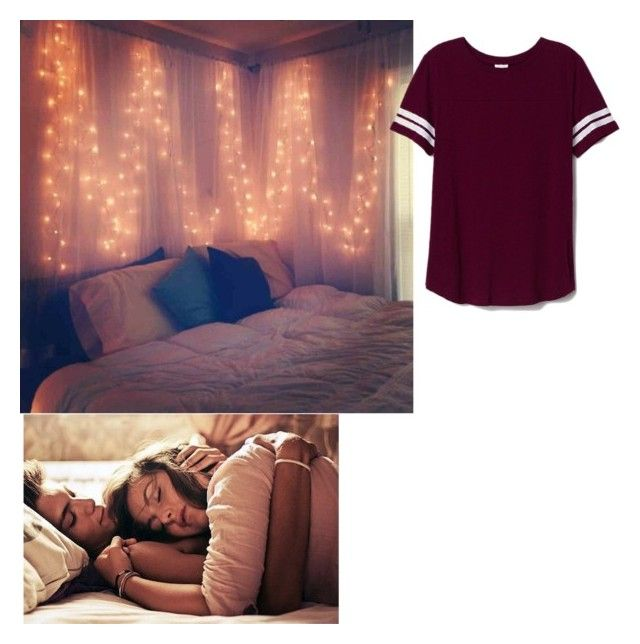 """""""some sleep with me to keep me safe"""" by jesslovesumore ❤ liked on Polyvore featuring Victoria's Secret PINK"""