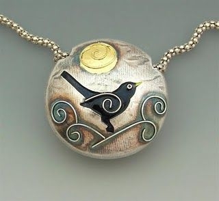 Love the enamelling technique here from Joy Funnell