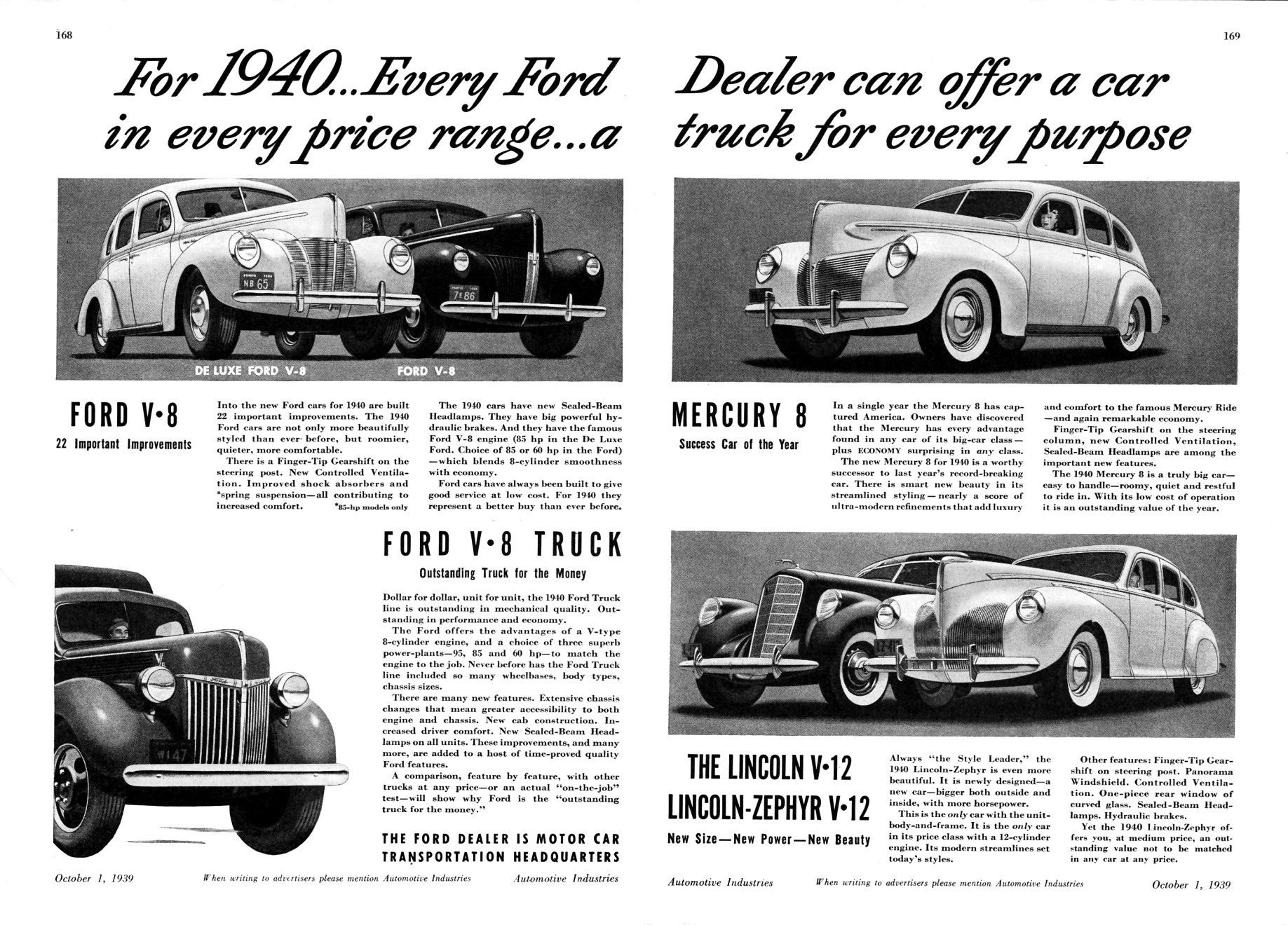 1940\'s advertising | old car ads home | old car brochures | old car ...