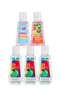 Bath Body Works Happy Birthday Hand Sanitizer Bundle 5 Pack By