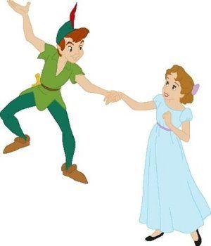 peter pan wendy tinkerbell capitan garfio campanilla im genes rh pinterest com Wendy Darling From Peter Pan Darling Wendy Disneyworldkissing