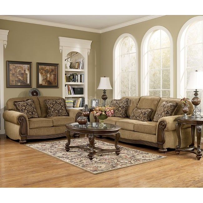 High Quality Lynnwood   Amber Living Room Set